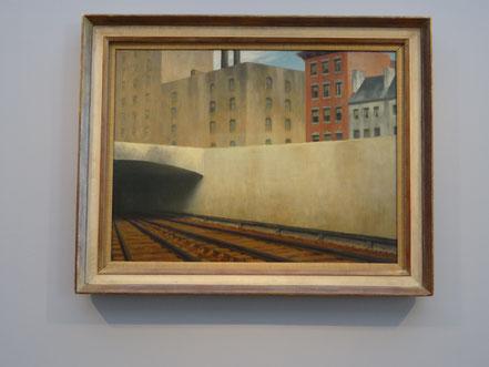 Edward Hopper. Einfahrt in die Stadt