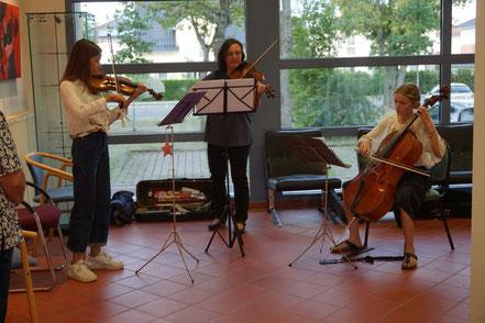 Musikalischer Auftakt zur Ausstellung