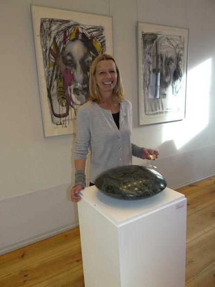 Katrin Pfister-Rosenzweig mit Green Planet, Gutshaus Steglitz