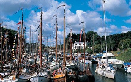 Jachthafen auf Zeeland
