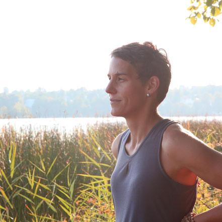 Yoga am Staffelsee Seehausen, Achtsamkeit und individuelle Wahrnehmung, Christine Yoga