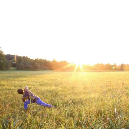 Yoga im Blauen Land - persönliche Grenzen aufbrechen und neu definieren
