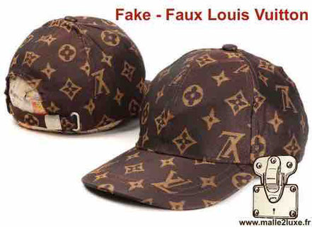 fake Louis Vuitton trunk and bag