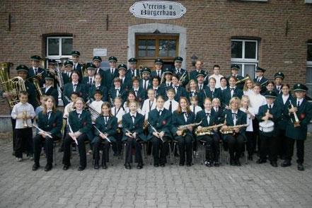 Musikverein Birgden im Jahr 2004