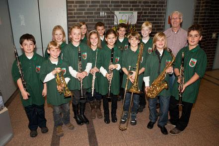 Bläserklasse Musikverein Birgden 2010, Sparda-Preis