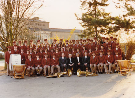 Musikverein Birgden im Jubiläumsjahr 1989