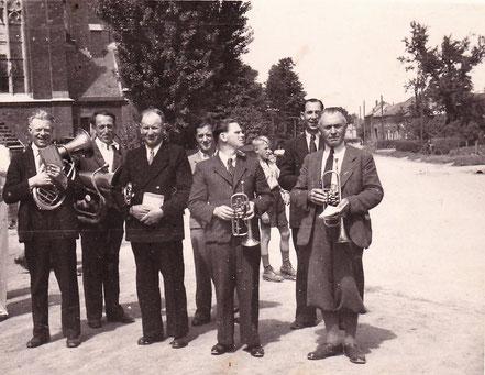 Männer der ersten Stunde: Musikverein Birgden, Nachkrieg
