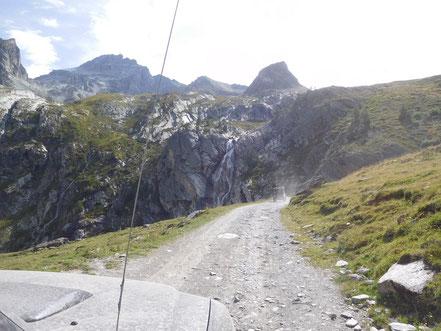 Weg zum Col de Sommeiller