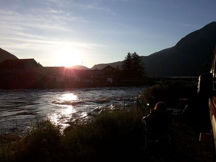 Abendstimmung am Eidfjord