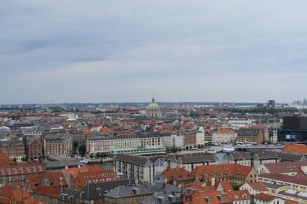 Blick vom Turm der Vor Frelsers Kirke, Kopenhagen