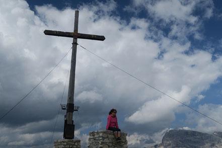 Gipfelkreuz auf dem Strudelkopf
