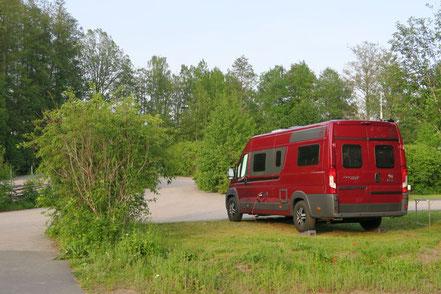 Stellplatz bei Astrid Lindgrens Värld Camping