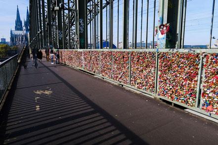 Liebesbrücke, Köln