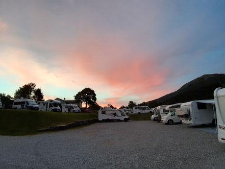 "Abendstimmung am Campingplatz ""Lone Camping"""