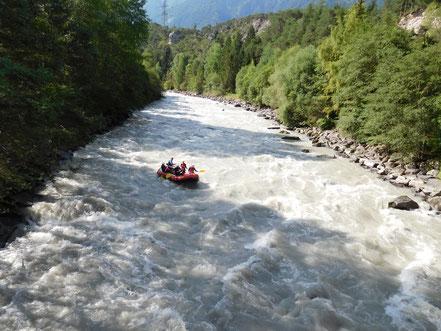 Rafting Ötztal, Tirol