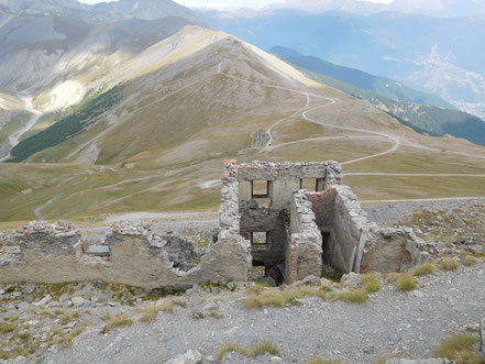 Fort Jafferau, Cottische Alpen, Italien