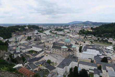 Altstadt in Salzburg