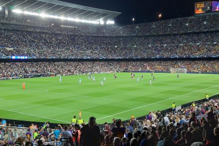 Barça - Inter  2:1  Camp Nou, Barcelona