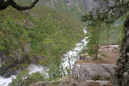 Vier-Wasserfall-Tour