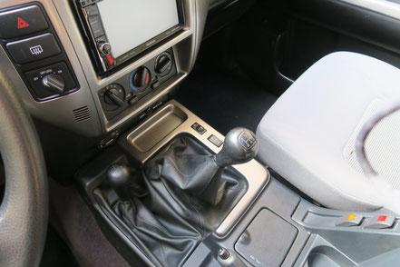 5-Gang Schatgetriebe mit zuschaltbarem Allrad und Untersetzung