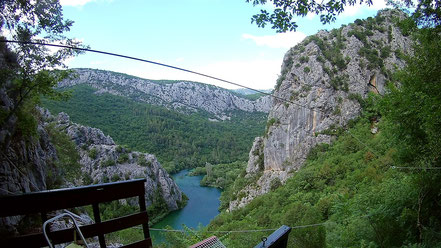 Omiš, Zipline Croatia
