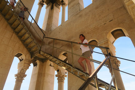 Split, Glockenturm Treppe nach oben
