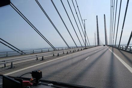 Öresundbrücke, zwischen Dänemark und Schweden