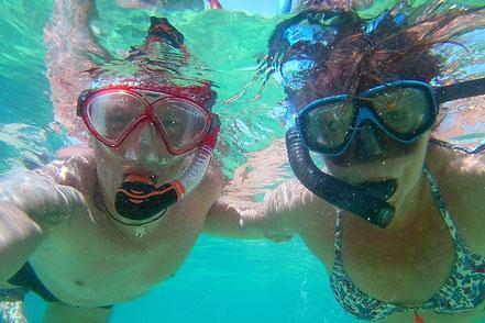B´n B unter Wasser