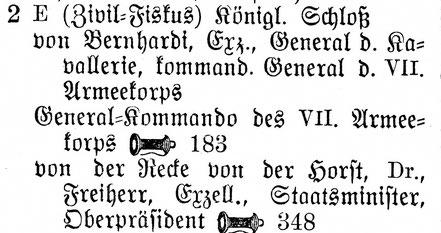 Einwohnerbuch 1909
