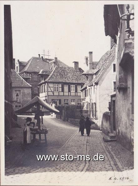 Marktstand am Horsteberg