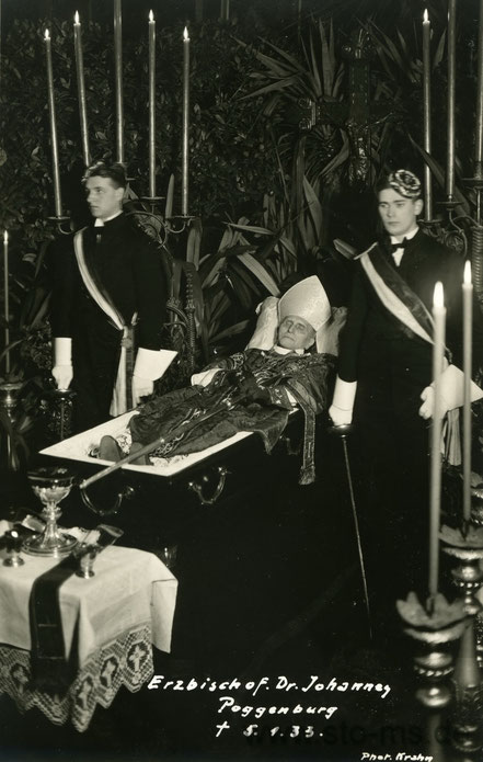 Bischof Johannes Poggenburg 1933