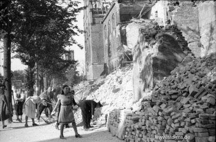 Herbst 1945 Bahnhofstraße - ULB Münster
