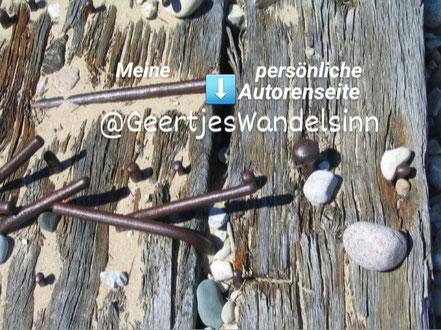 Meine persönliche Autorenseite @GeertjesWandelsinn