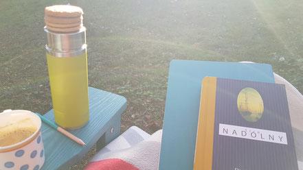 Lesen und Schreiben im Garten @Wandelsinn