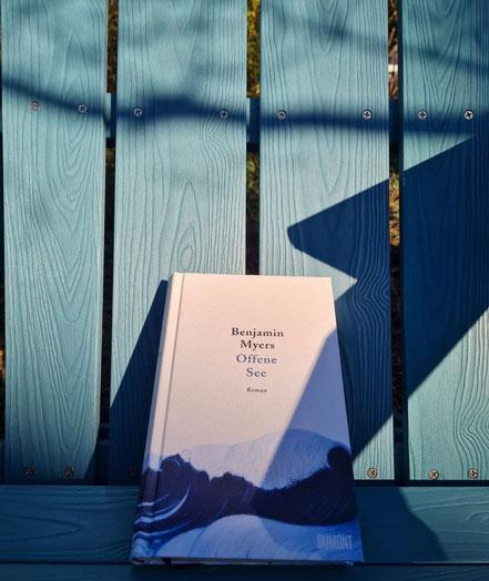 Offene See von Benjamin Myer - Dumont Verlag @wandelsinn