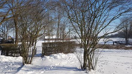 Schnee am Niederrhein