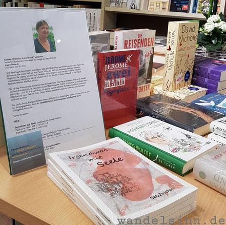 Vorstellung der Autorin Geertje Wallasch im Buchhandel, hier Bücher Keuck