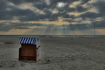Strandkorb auf Amrum ©geertjens ©wandelsinn