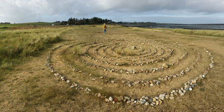 Steinkreis auf Amrum, Wattseite