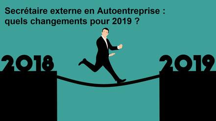 Secrétaire indépendante en auto-entreprise en 2019