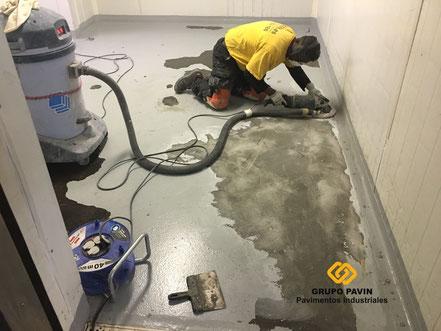 Soluciones en pavimentos de resinas con soportes en mal estado