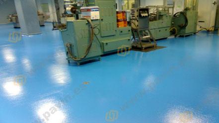Suelos de resina para pavimentos industriales sanitarios aplicados por Grupo Pavin