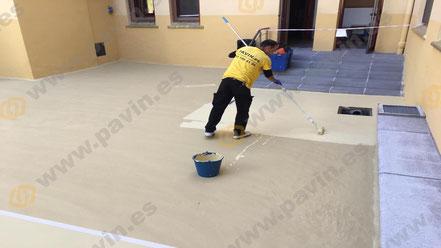 Los pavimentos industriales recubiertos con resina