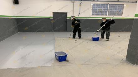 Grupo Pavin es una empresa de pavimentación que genera espacios libres de polvo a sus clientes