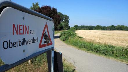 Die Bürger machen weiter! Auch im Interesse der Boberger Niederung (Foto).