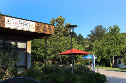 Café und restaurant in Bad Bellingen neben Balinea-Therme