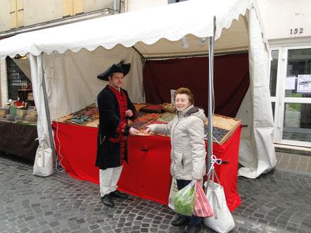 stand-tenue-médiévale