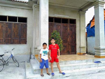 Haus fast fertig Februar 2019