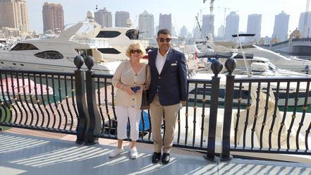 Elke und Ahmed