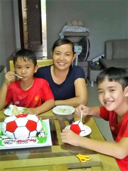Dungs Geburtstagstorte
